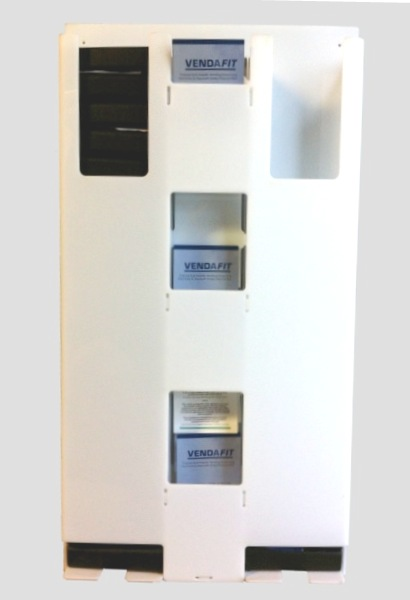 Vendafit - Perspex 2 columns - Clean